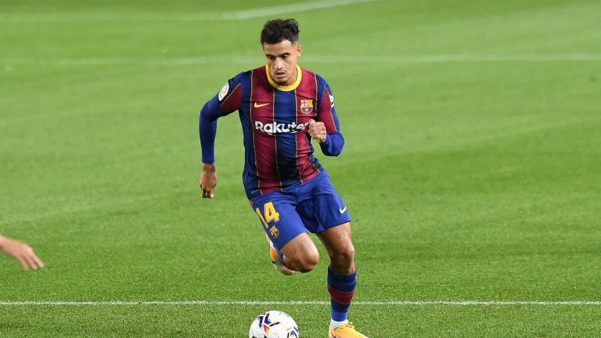 Coutinho blessé à la cuisse — Barça