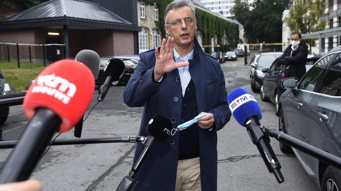 Mesures anti-coronavirus: Joachim Coens s'excuse pour avoir pris un lunch dans un hôtel