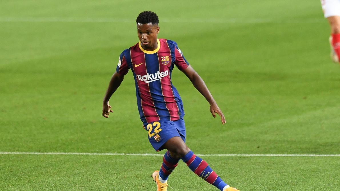 Barça: Rupture du ménisque au genou gauche pour Ansu Fati