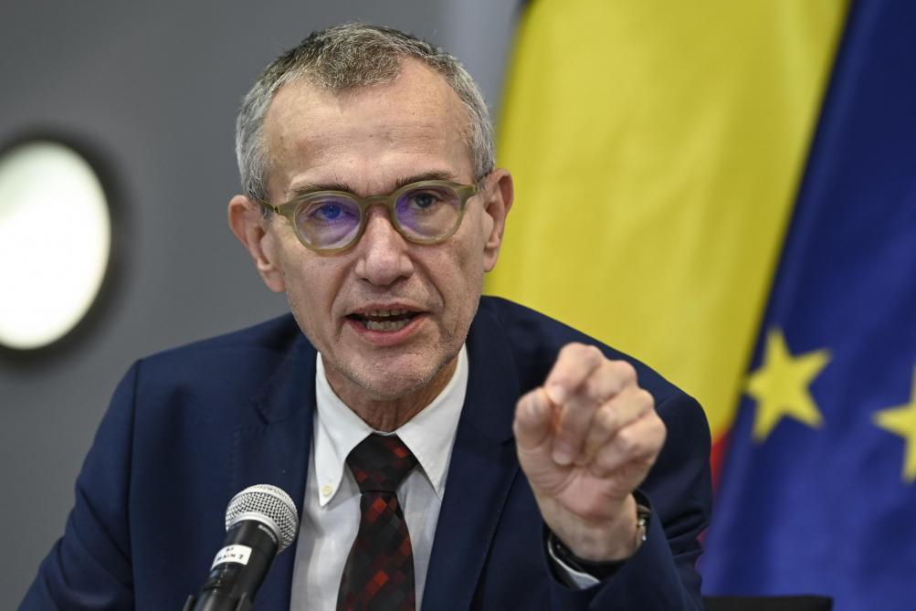 Frank Vandenbrouck, ministre de la Santé: «On fêtera Noël, mais autrement»
