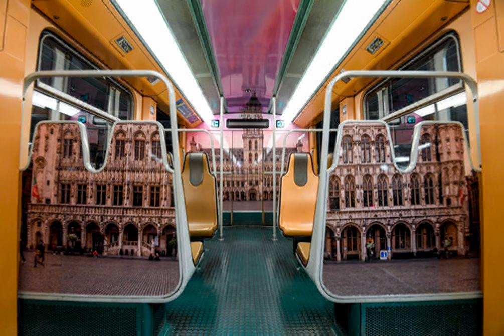 Stib: quand la Grand-Place s'invite dans le métro (photos)