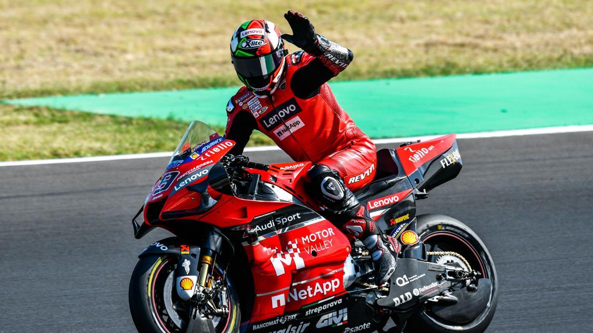 Le MotoGP c'est fini pour Iannone