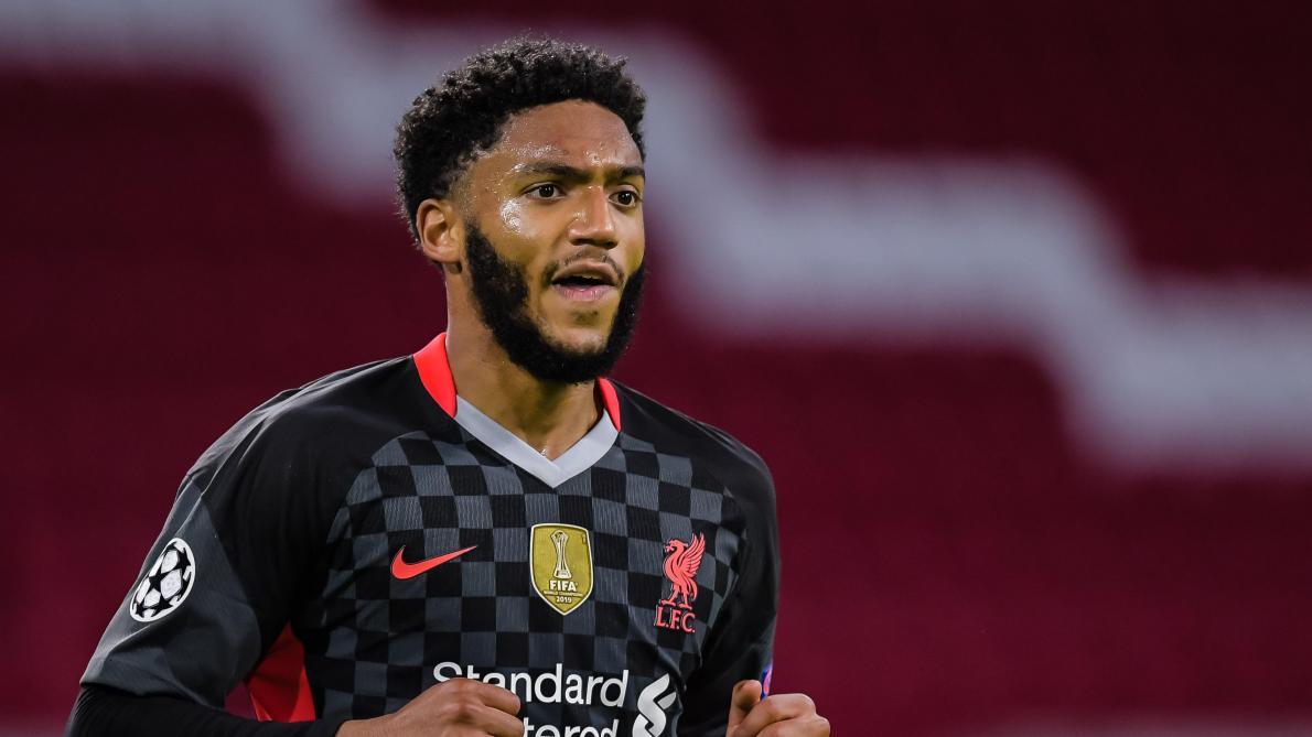 Mauvaise nouvelle, Gomez se blesse — Liverpool
