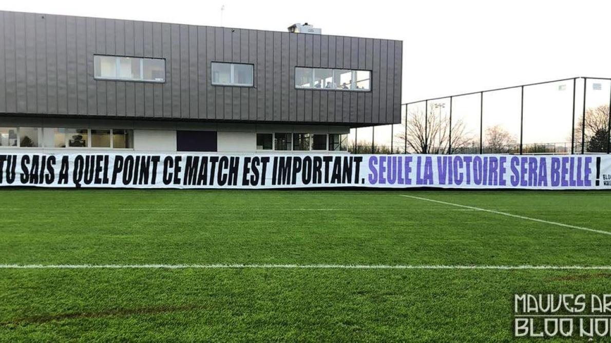La Mauves Army met la pression sur Kompany avant Anderlecht-Standard: «Seule la victoire sera belle» (photo)