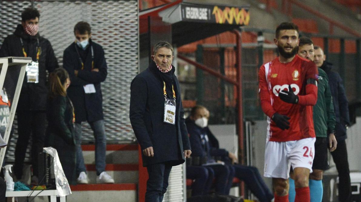 Philippe Montanier très satisfait après la victoire contre Poznan: «On vivait très mal ce zéro pointé en Europe»