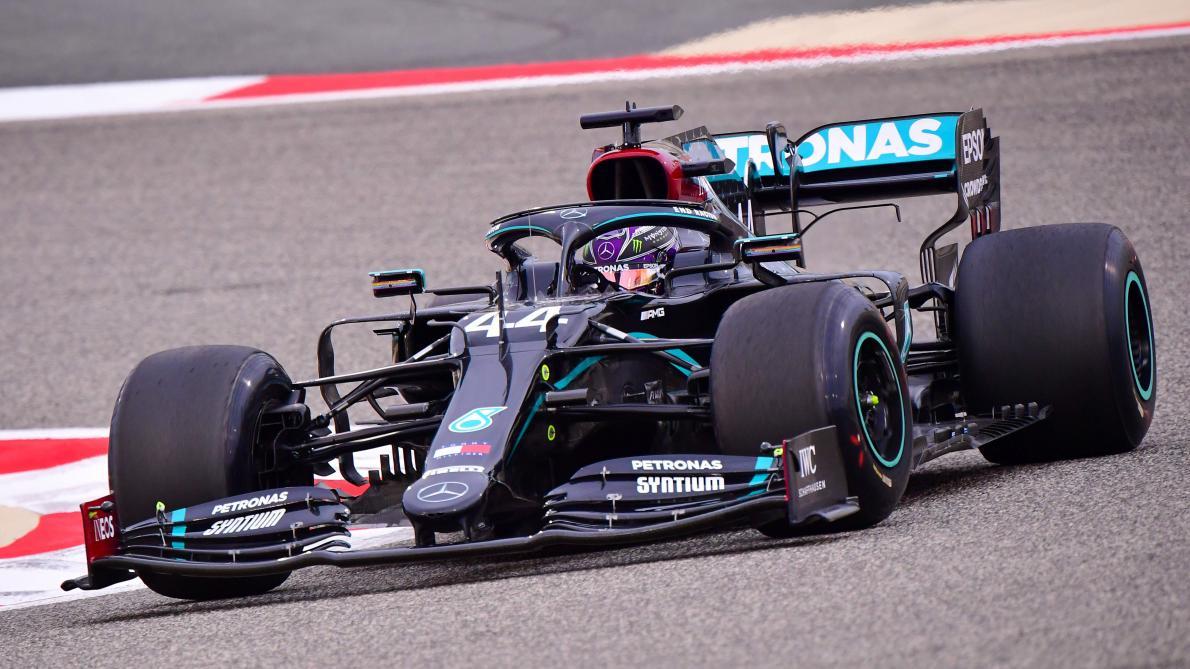 Lewis Hamilton signe une nouvelle pole — GP Bahreïn