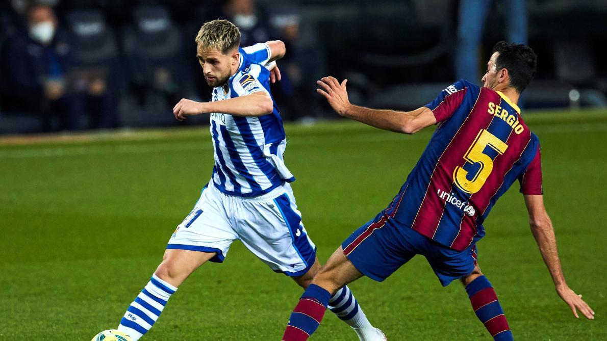 Le Barça fait tomber le leader — Esp
