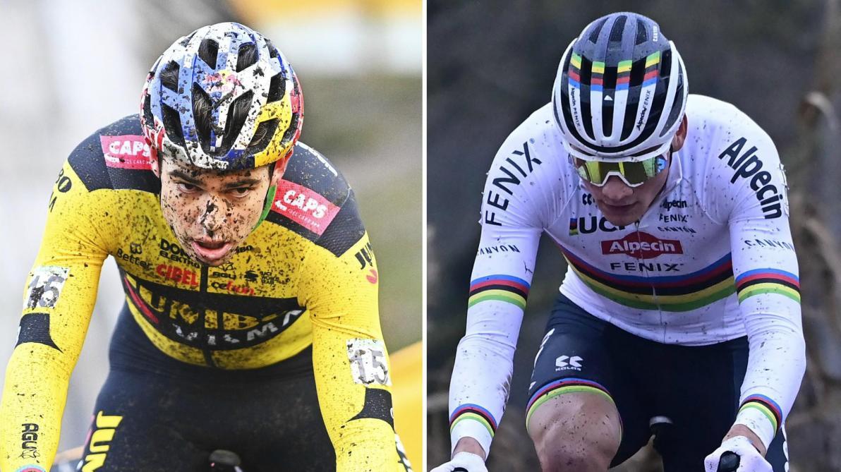 Cyclo-cross : van der Poel bat van Aert pour leurs retrouvailles