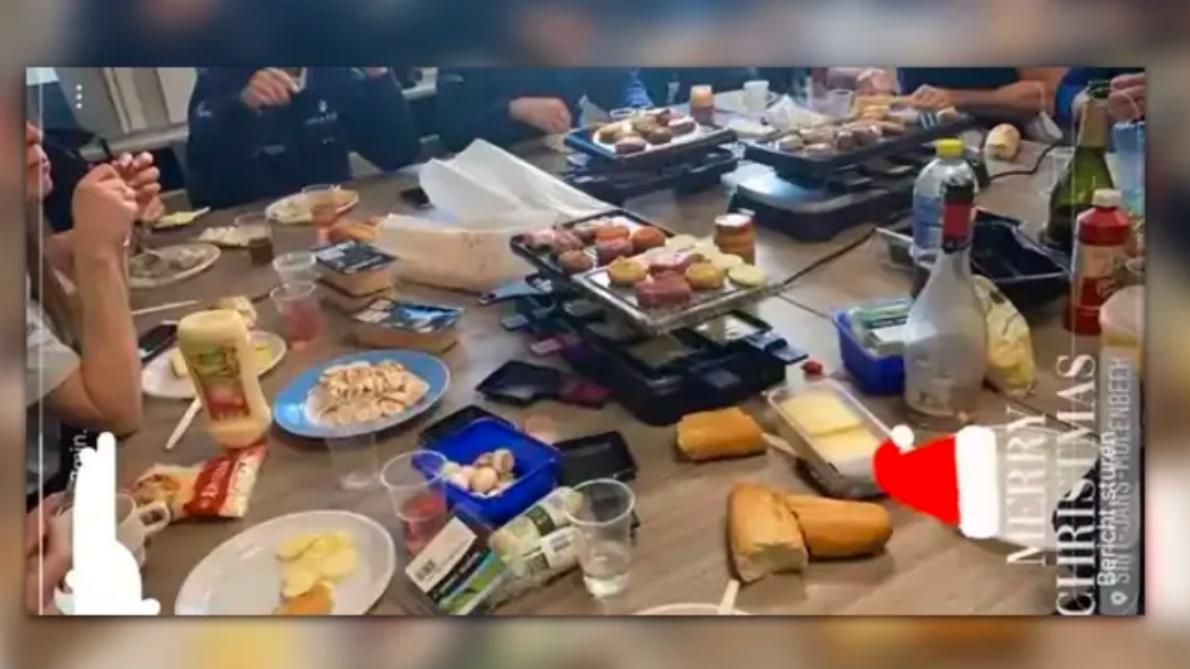 Une enquête ouverte suite à une raclette dans un commissariat de Molenbeek lors du réveillon de Noël