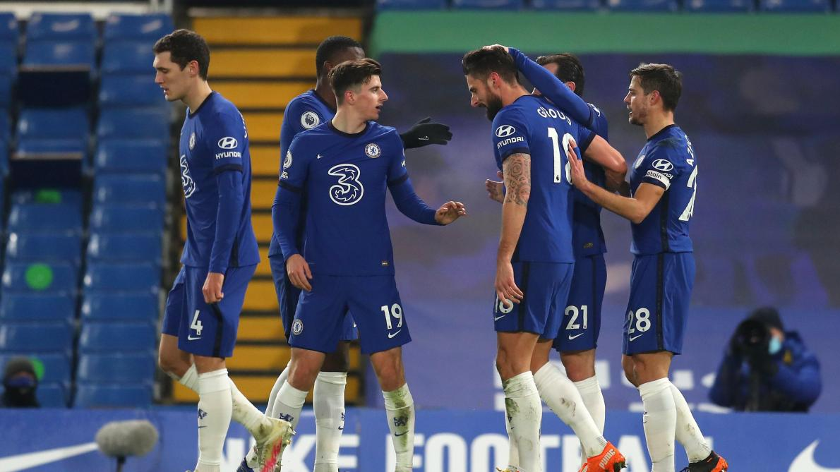 Cinq absents en raison du coronavirus contre Chelsea — Manchester City