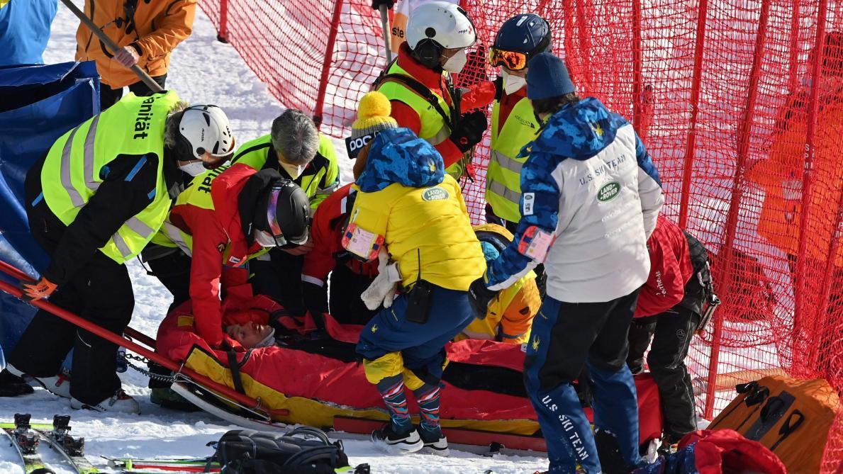 Vidéo: Violente chute du skieur alpin américain Tommy Ford à Adelboden
