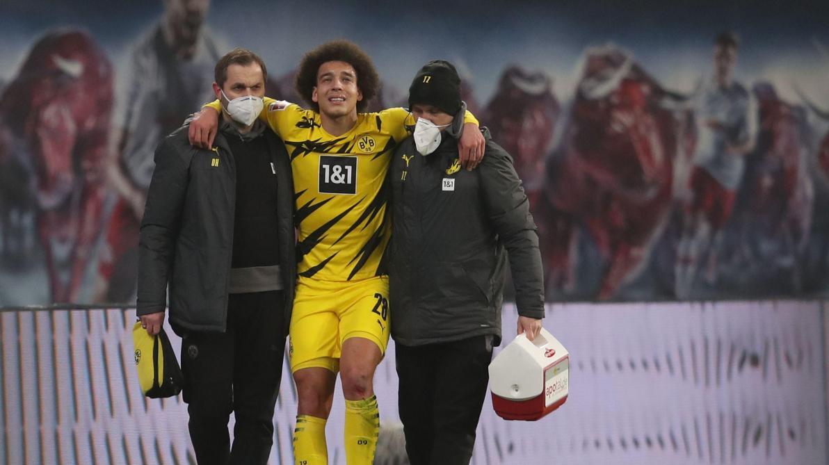 Énorme coup dur pour Axel Witsel — Borussia Dortmund