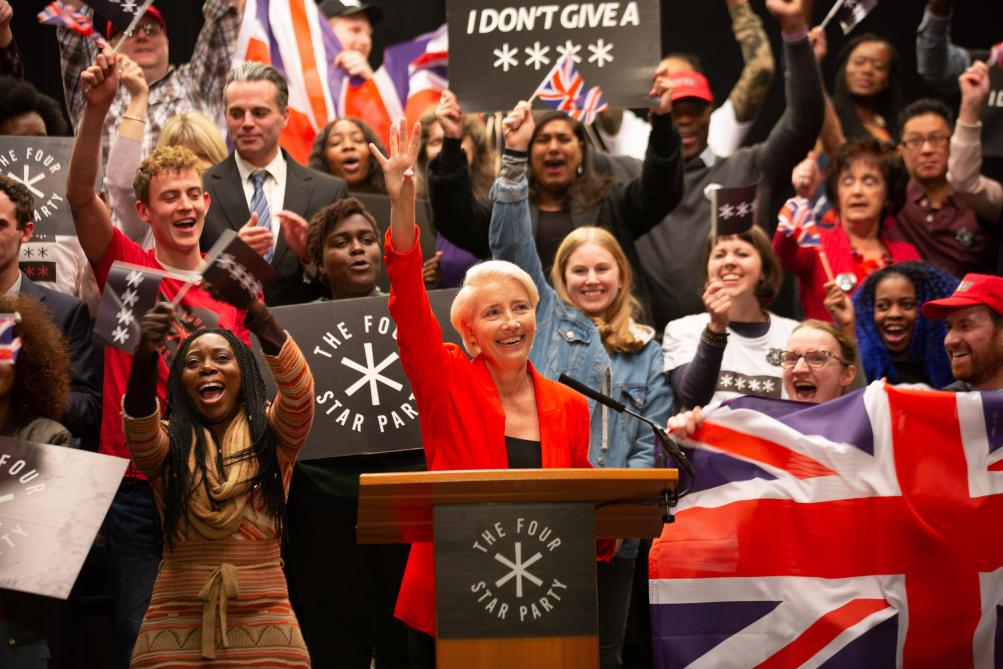 Emma Thompson, incroyable en leader populiste. @STUDIO CANAL