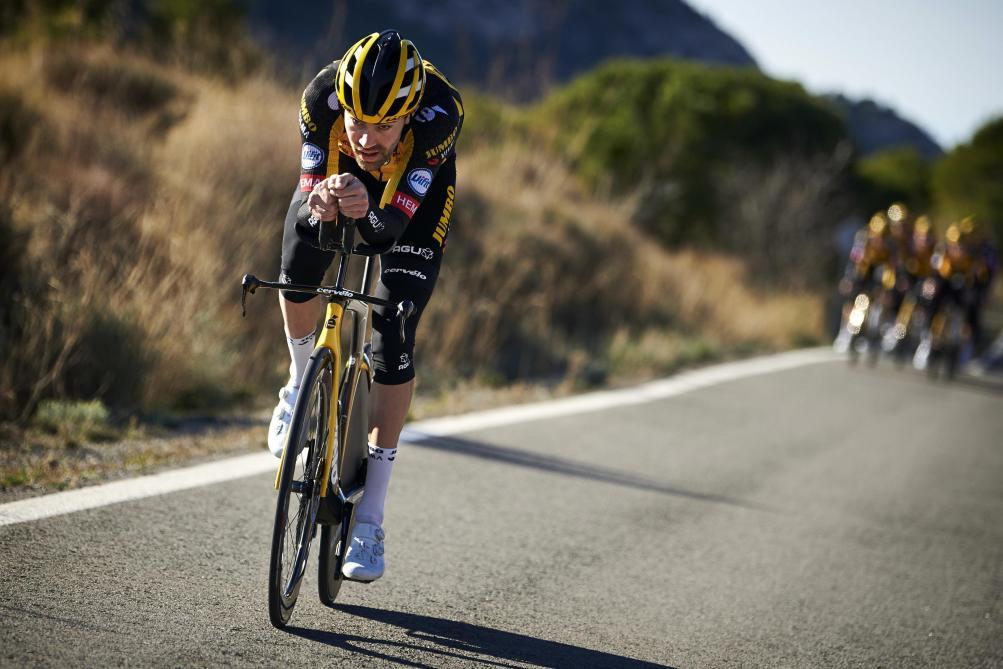 Le Néerlandais Tom Dumoulin fait une pause dans sa carrière — Cyclisme