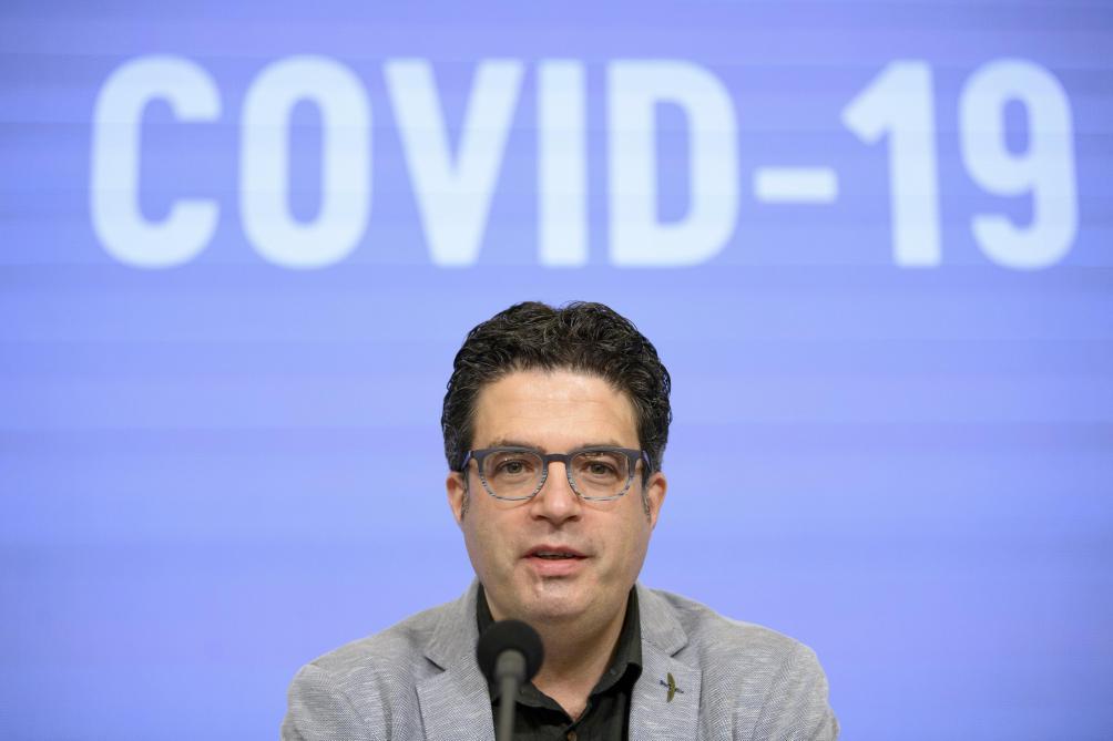 Van Gucht: «C'est chez les enfants et les adolescents qu'il y a la plus forte augmentation du nombre de cas de coronavirus»