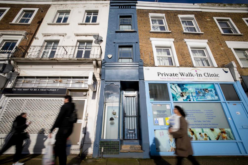 La plus étroite maison de Londres est à vendre: à quoi ressemble l'intérieur? (photos) - Le Soir