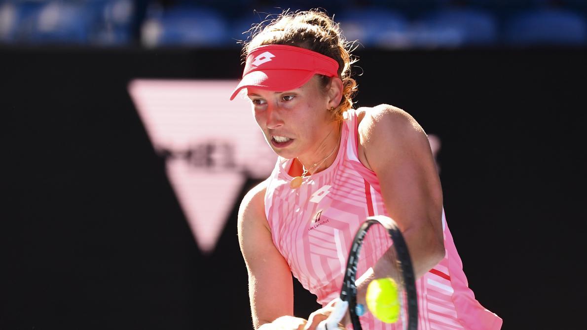 Elise Mertens se qualifie aisément pour les 8es de l'Open d'Australie: «Le stade est vide, mais je sais qu'en Belgique, on me soutient!» - Le Soir