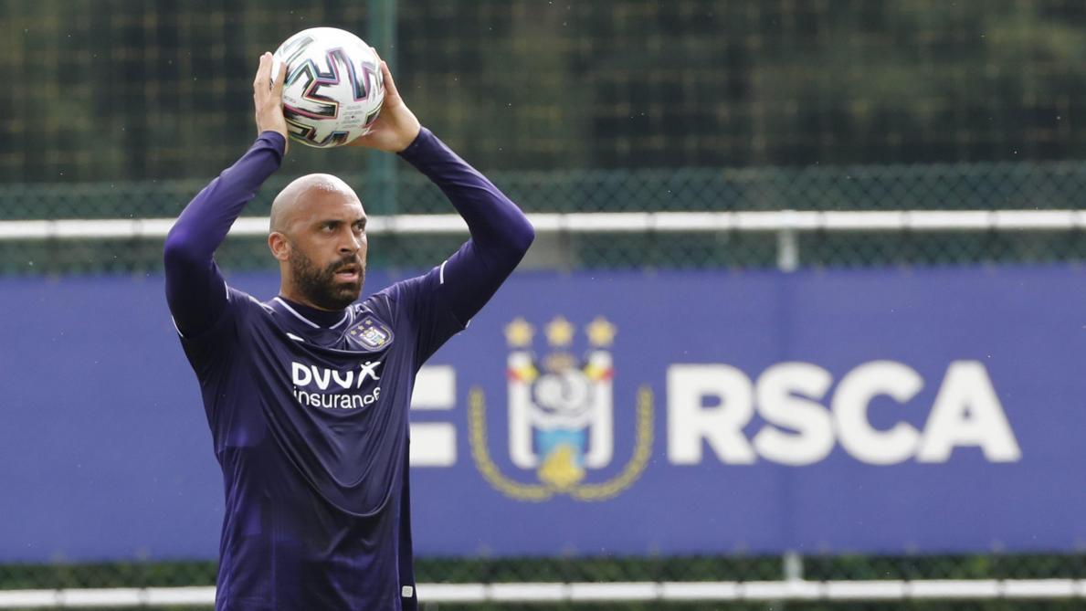 Surprise à Anderlecht: Anthony Vanden Borre s'est entraîné avec les U21 mauves - Le Soir