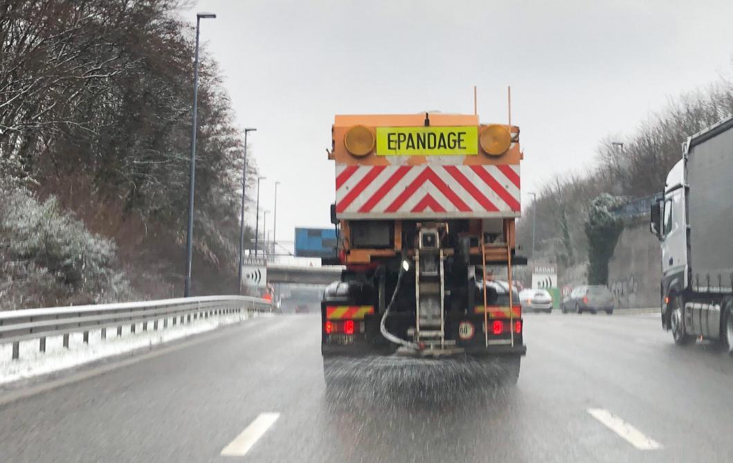 L'IRM met en garde contre les conditions de circulation glissantes - Le Soir