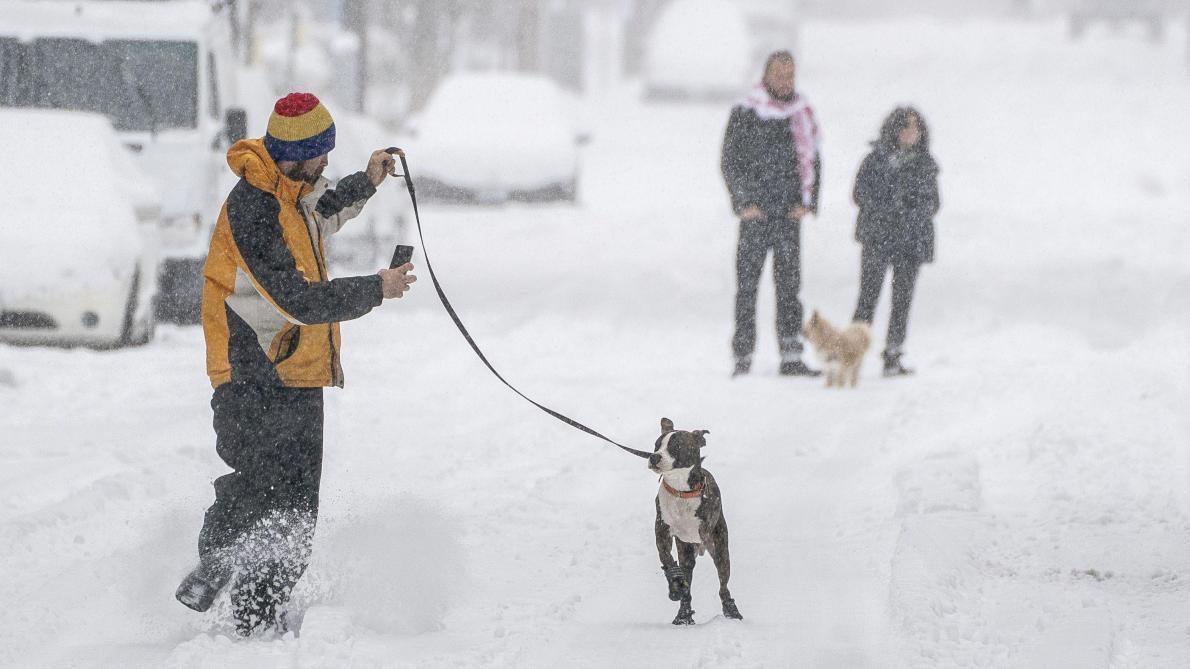 Une vague de froid polaire s'abat sur les Etats-Unis: «Des centaines de records de froid ont été enregistrés» - Le Soir