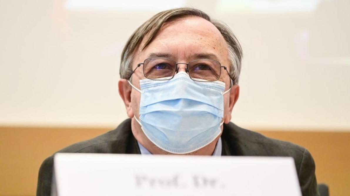 Yves Van Laethem: «Plus d'un tiers des infections sont causées par le variant britannique» - Le Soir