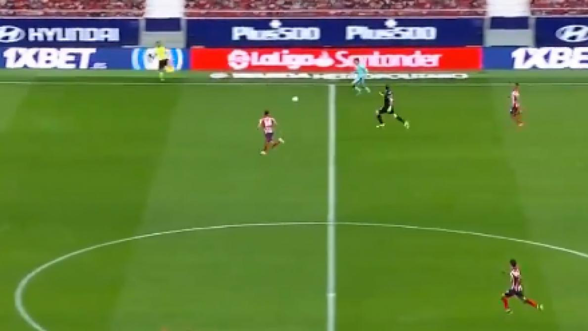 L'incroyable but gag encaissé par l'Atlético Madrid: Levante profite d'une montée du gardien Oblak pour marquer (vidéo) - Le Soir