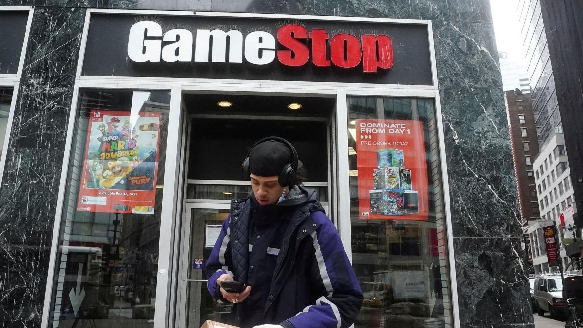 L'action GameStop s'envole de plus de 100% à la clôture de Wall Street - Le Soir