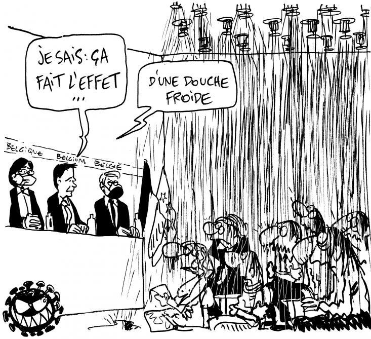Le Kroll du jour sur la non-décision du Comité de concertation - Le Soir