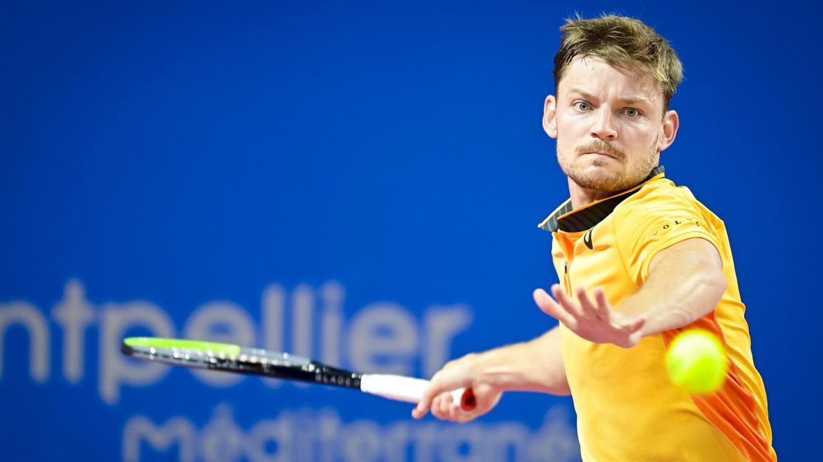 ATP Montpellier: David Goffin se qualifie pour la finale après sa victoire contre Egor Gerasimov - Le Soir