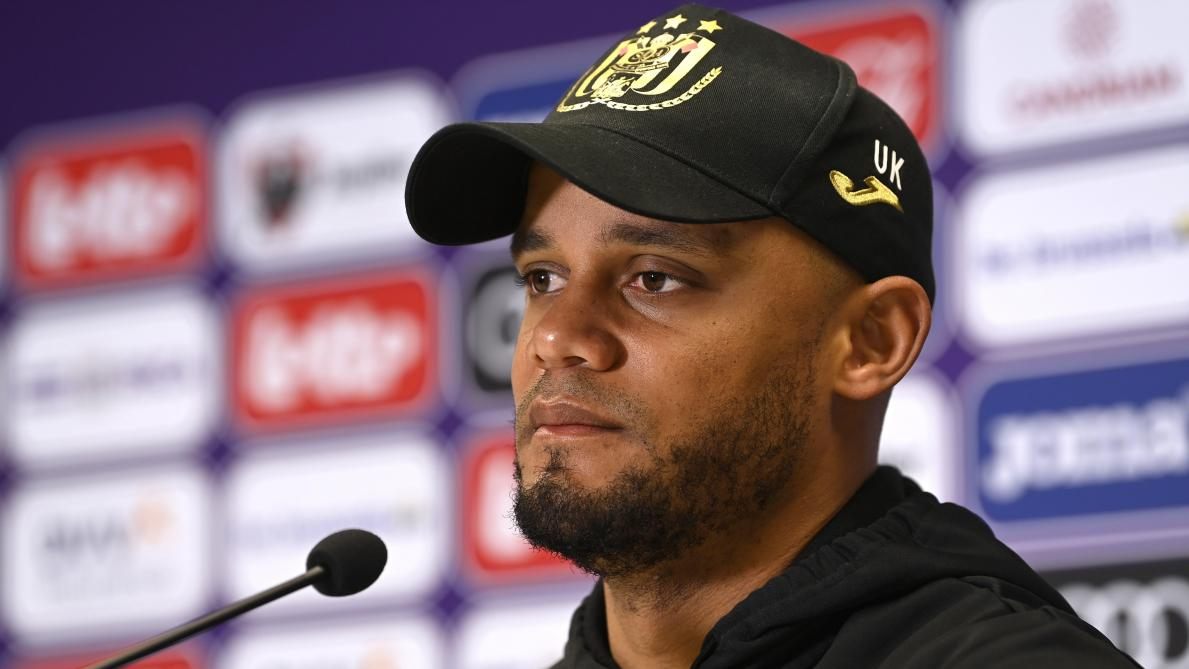 Vincent Kompany avant d'affronter le CS Bruges en Coupe: «Davantage que la tactique, c'est l'intensité et l'enthousiasme qui comptent»