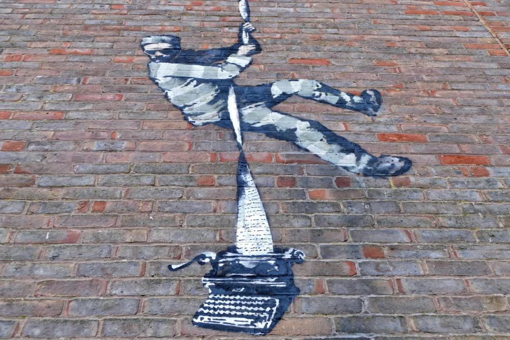 Banksy revendique une nouvelle œuvre d'art (photos et vidéo) - Le Soir