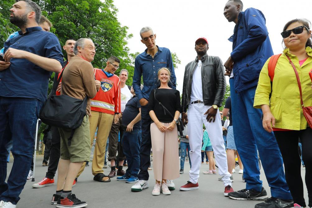 Les hommes belges sont les deuxièmes plus grands au monde, derrière les Néerlandais