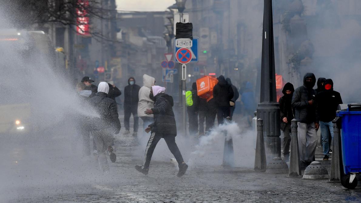 Liège: des casseurs venus de la Capitale, voire de France - Le Soir