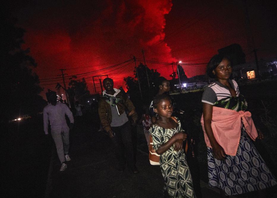 RDC : Le volcan Nyiragongo est entré en éruption (Vidéo)