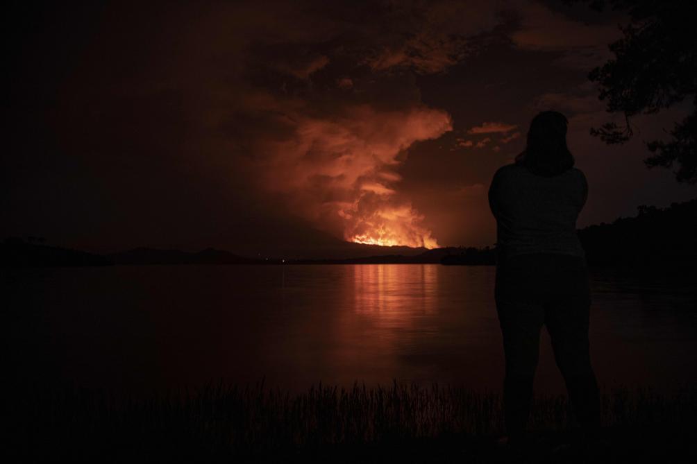 Est de la RDC : éruption du volcan Nyiragongo, la population fuit Goma