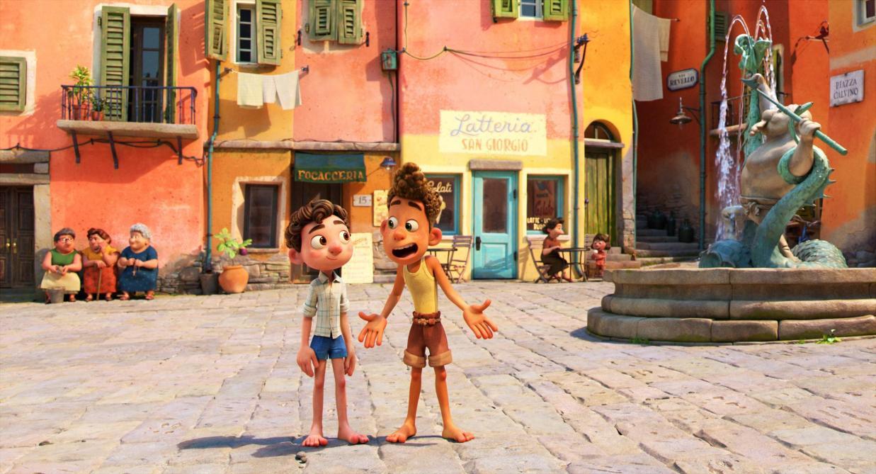 «Luca» sur Disney +: allons voir sous les écailles! - Le ...