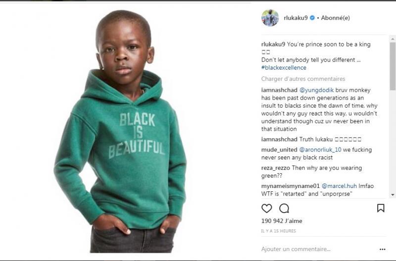 Publicité Raciste De H M La Réponse De Romelu Lukaku Sur