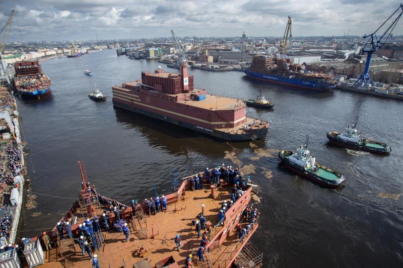 """Résultat de recherche d'images pour """"russie, Centrale nucléaire flottante russe au Soudan"""""""
