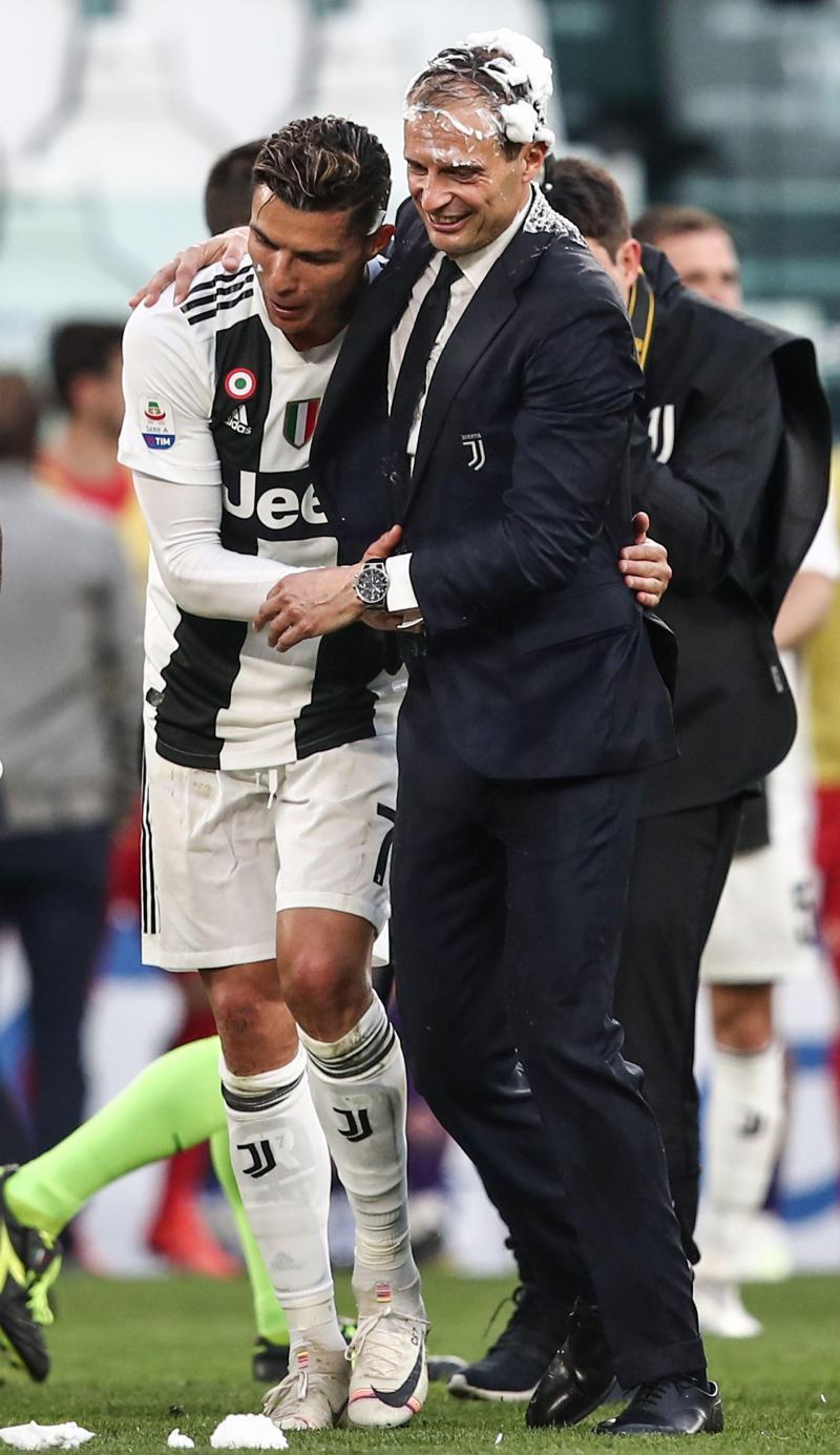 : Juventus championne d'Italie: les premières superbes images du sacre turinois (photos)