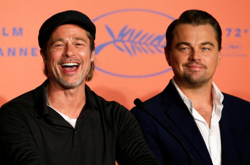Tarantino à Cannes: Brad Pitt et Leonardo DiCaprio partants pour retravailler ensemble (photos)