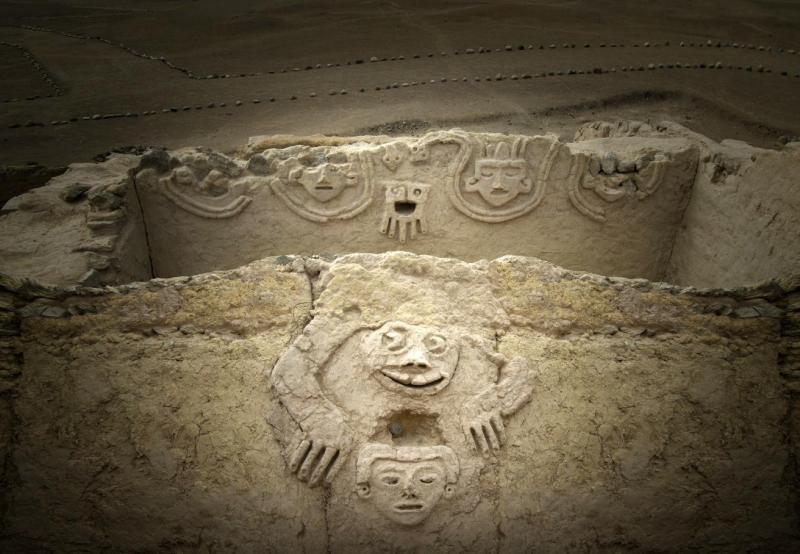 Incroyable découverte sur un site archéologique près de Lima au Pérou (photos)