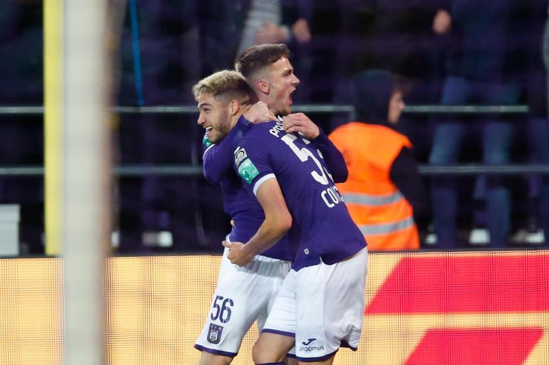 Les superbes débuts d'Antoine Colassin avec Anderlecht: il marque pour sa première titularisation