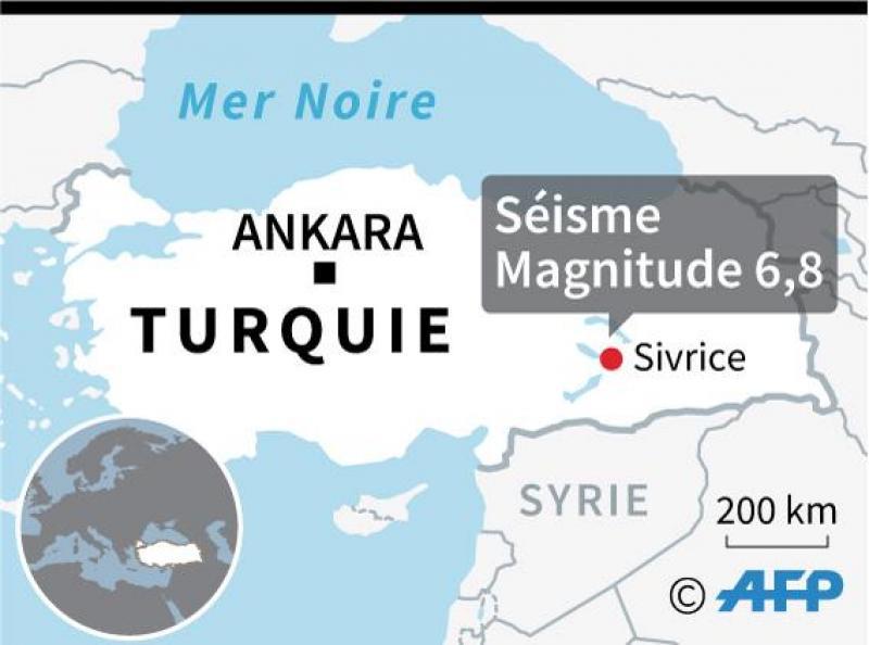 Au moins 20 morts dans un puissant séisme — Turquie