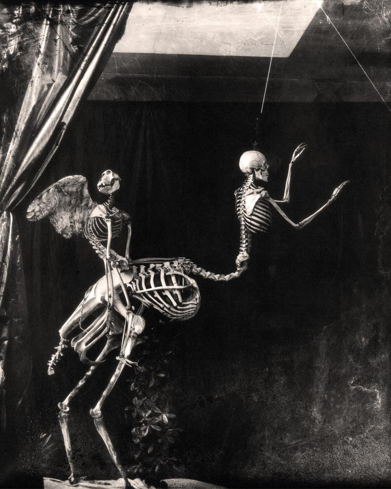 Joel-Peter Witkin, «Cupid and Centaur in the Museum of Love, Marseille, 1992 ».