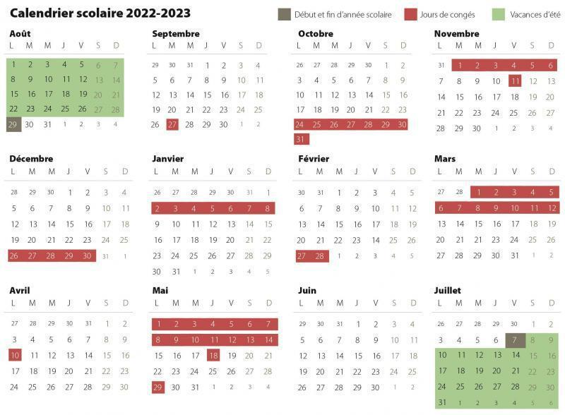Calendrier Vacances Scolaires Européennes 2022 2023 Ecoles: à quoi ressembleront les congés scolaires dès 2022 2023
