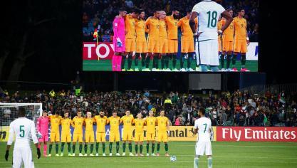 SOCCER-WORLDCUP-AUS-SAU_