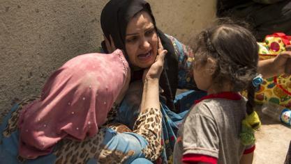Ces derniers jours, les quelques djihadistes encore présents à Mossoul étaient assiégés dans un réduit de la vieille ville, le long du Tigre. © AFP
