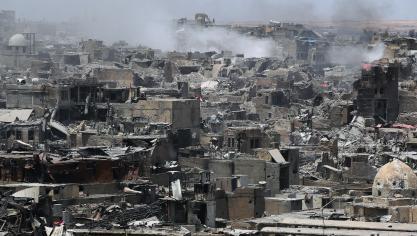 La reconquête de Mossoul est la plus importante victoire de l'Irak face à Daesh depuis que le groupe extrémiste sunnite s'était emparé en 2014 de vastes portions de son territoire. © AFP