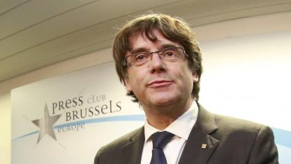 Carles Puigdemont s'est exprimé au «Press Club» de Bruxelles (photo)