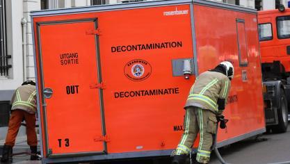 Alerte au cabinet Francken : pas d'anthrax retrouvé, mais bien une balle réelle
